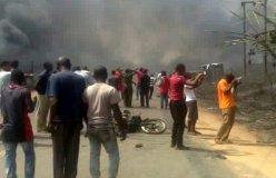 नाइजीरिया : गैस टैंकर में विस्फोट, 100 लोगों की मौत