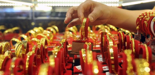 lower prices of gold
