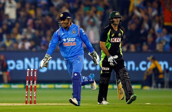 Indian Australia T20 match at Melbourne