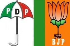 जम्मू एवं कश्मीर में जल्द होगीपीडीपी-भाजपा सरकार!