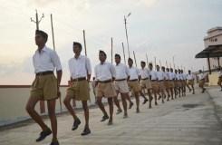 RSS के पथ संचलन में नहीं कर पाएंगे हथियारों का प्रदर्शन