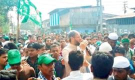 हैदराबाद: ओवैसी के खिलाफ केस दर्ज, मारपीट का आरोप