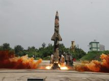 पृथ्वी-2 मिसाइल का सफल परीक्षण