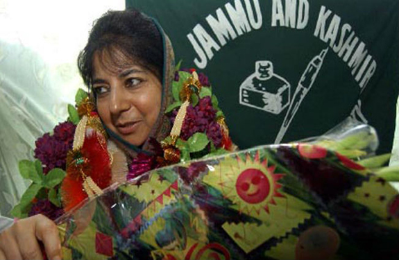 Mehbooba Mufti Declared Jammu and Kashmir CM Candidate By PDP first woman CM