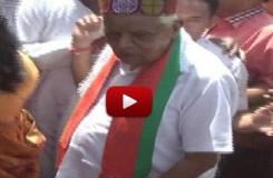 गृहमंत्री बाबूलाल गौर का गंदी हरकत वाला वीडियो वायरल