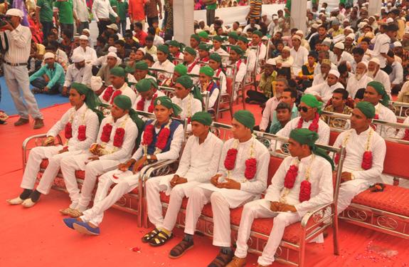 collective wedding of 40 couples in KALLA SHARIF DIST- VADODARA  Gujarat