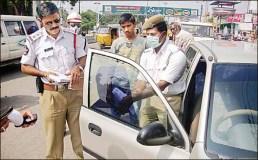 यातायात पुलिस की बेहतर शुरुआत 'जिम्मेदार नागरिक'