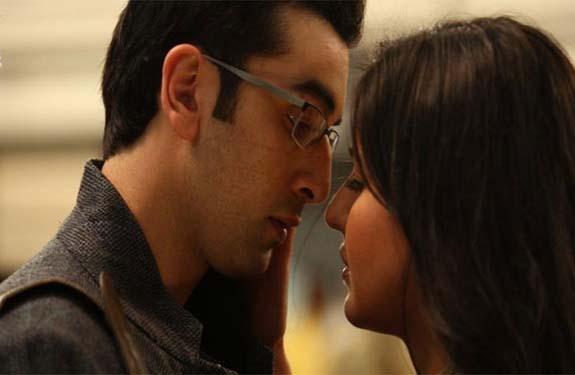 ranbir says no to kiss katrina kaif while shooting