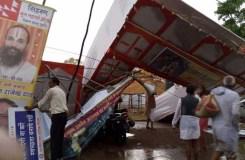 सिंहस्थ कुंभ में आंधी, तूफ़ान, बारिश में 7 की मौत, 90 घायल