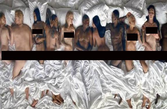 Kim Kardashian_Donald Trump_Nude_Sleeping