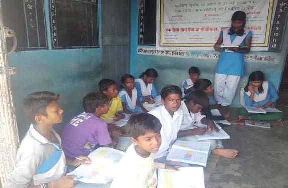 mandla schools panchayat
