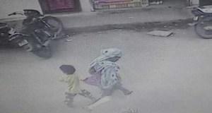 Indore, kidnapping, CCTV, Camera, Capture, innocent, Madhya Pradesh, Khajrana, temple, Police
