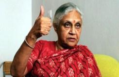 UP में शीला दीक्षित कांग्रेस की सीएम पद की उम्मीदवार