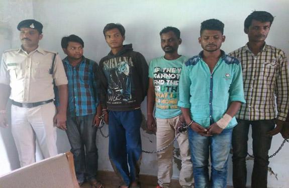 Betul Police Arrest Thief Gang