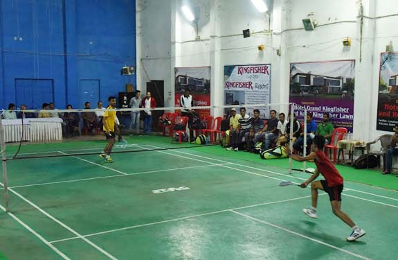 Mandla Madhya Pradesh is a obsession for badminton