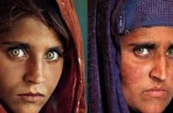 ग्रीन आँख वाली अफ़ग़ान गर्ल पाक में गिरफ्तार