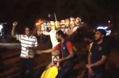 जेएनयू में NSUI ने दशहरे पर मोदी का पुतला जलाया !