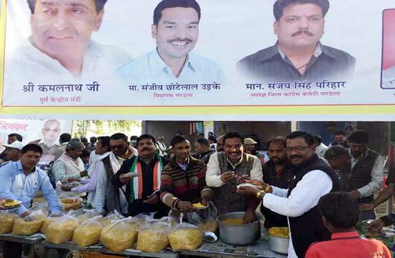 congress-with-narmada-seva-yatra-in-mandla