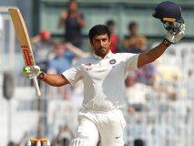 चक दे इंडिया : नायर ने ठोका तीहरा शतक, रिकॉर्ड स्कोर  पर भारत