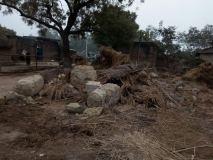 अमेठी में दबंगों ने ढहाया गरीब किसान का घर, प्रशासन मौन
