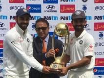 ऑस्ट्रेलिया को हरा कर भारत ने किया ट्रॉफी पर कब्जा
