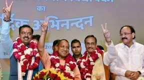 CM योगी ने पेश किया यूपी सरकार का 100 दिन का रिपोर्ट कार्ड