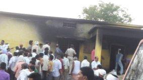 केरोसीन बांटते समय लगी आग, 25 लोगों की जलने से मौत