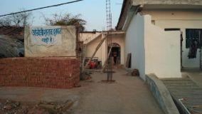 नर्मदा किनारे बंद पर गांवो में खुल रही शराब दुकान, किया विरोध