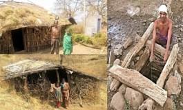 पाषाण युग की तरह जीते है मध्यप्रदेश के इस गांव के लोग
