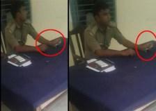 यूपी में नहीं रुक रहे रिश्वत के मामले, फिर सामने आया पुलिस का घूस लेते वीडियो