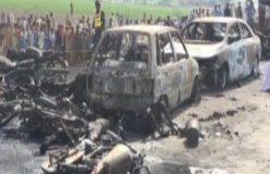 बड़ा हादसा: तेल का टैंकर फटने में 123 लोगो की जल कर मौत