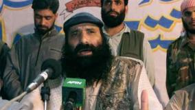 हिजबुल सरगना सलाहुद्दीन ने माना, भारत में कराए आतंकी हमले