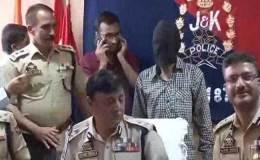 लश्कर ए तैयबा का आतंकी संदीप शर्मा J&K से गिरफ्तार