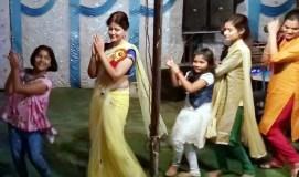 नवरात्रि पर लेडी सिंघम का नया अंदाज
