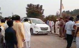 मंत्री के काफिले की गाड़ी ने बच्चे को कुचला, मौके पर मौत