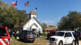 चर्च में फायरिंग, 26 की मौत, ट्रंप ने जताया दुख
