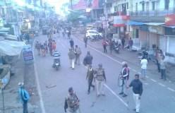उज्जैन: जुलूस के दौरान विवाद, पुलिस ने छोड़े आंसू गैस के गोले