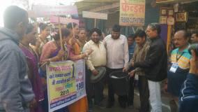 खंडवा : किन्नरों ने शहरवासियों को दिया स्वच्छता का शगुन