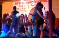 Video: सरस्वती पूजा के नाम पर थिरकीं बार डांसर