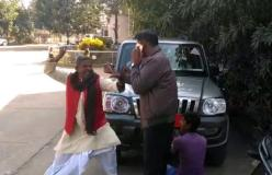भाजपा नेता ने अधिकारी को पीटा, जड़े दनादन कई थप्पड़