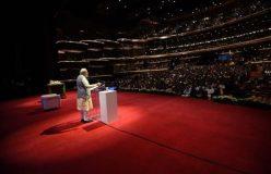 PM मोदी ने किया अबू धाबी के पहले मंदिर का शिलान्यास, लगे नारे