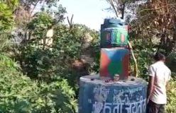 Video : अंबेडकर की मूर्ति तोड़ी, उपराष्ट्रपति बोले लोग पागल