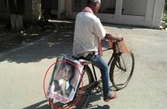 बेटी को इंसाफ दिलाने के लिए एक पिता का अनूठा प्रयास