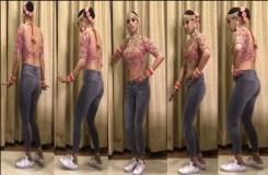 शादी में दुल्हन ने पहनी जीन्स के साथ चोली Video Viral