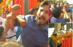 अंबेडकर की मूर्ति को माला पहनाने से रोका, बीजेपी नेताओं से भिड़े जिग्नेश मेवानी के समर्थक