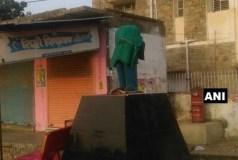 यूपी और राजस्थान में अंबेडकर की प्रतिमाओं से सिर गायब