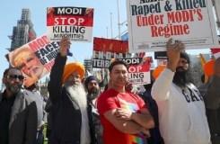 PM मोदी के खिलाफ प्रदर्शन के दौरान तिरंगे का अपमान, ब्रिटेन ने मांगी माफी