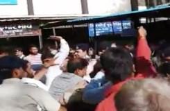 इंदौर : दुष्कर्म के आरोपी की कोर्ट परिसर में जमकर पिटाई