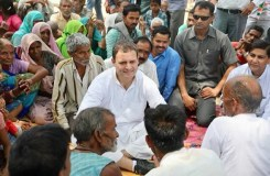 भूमिहीन सत्याग्रहियों के साथ मिल कर आंदोलन करेंगे राहुल गांधी