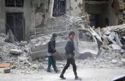 सीरिया के मिलिट्री एयरपोर्ट पर मिसाइल से हमला